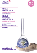Applied General Science specification cover